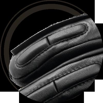 DANE Detail Handschuh Visierwischer