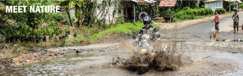 Weltreisende über ihre DANE-Motorradbekleidung