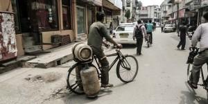 Gefahrengut-Transport auf indisch.