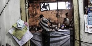 ..und Küchenhygiene würde bei deutschen Behörden Skepsis hervor rufen. Das Niveau der indischen Busfahrer und Küche lagen aber zumeist über deutschem Standard. Die sanitären Anlagen eher da drunter. Geht aber auch.